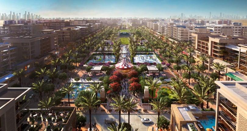 """Le quartier de """"Town Square"""" – Une Communauté Exclusive à Dubaï"""