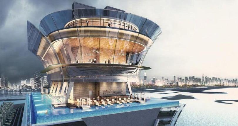 Prochaine Ouverture de l'Une des Plus Grandes Piscines à Débordement de Dubaï