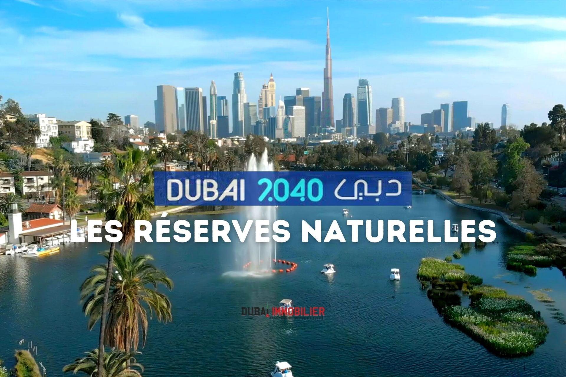 Plan d'urbanisme de Dubaï : des réserves naturelles sur 60 % de la ville
