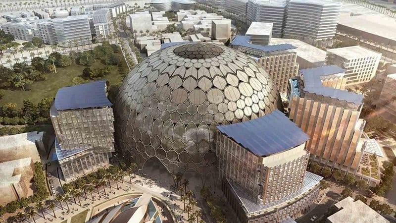 plan d'urbanisme de Dubaï : centre Expo 2020