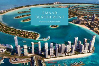 Emaar Beachfront, un nouveau quartier luxueux entre la Palm et la Marina