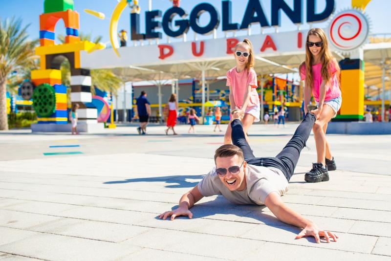 activités pour les enfants à Dubaï : Legoland