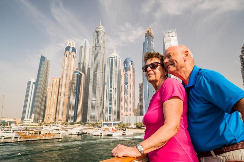 retraite à Dubaï